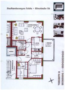 Erdgeschoss WHG 1 Variante A