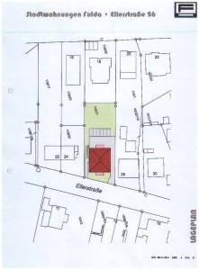 Lageplan Ellerstraße