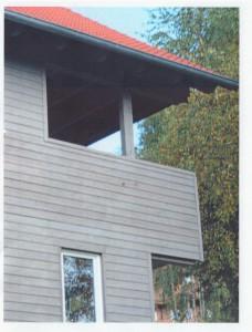 UB 19 Loggia Gartenhaus